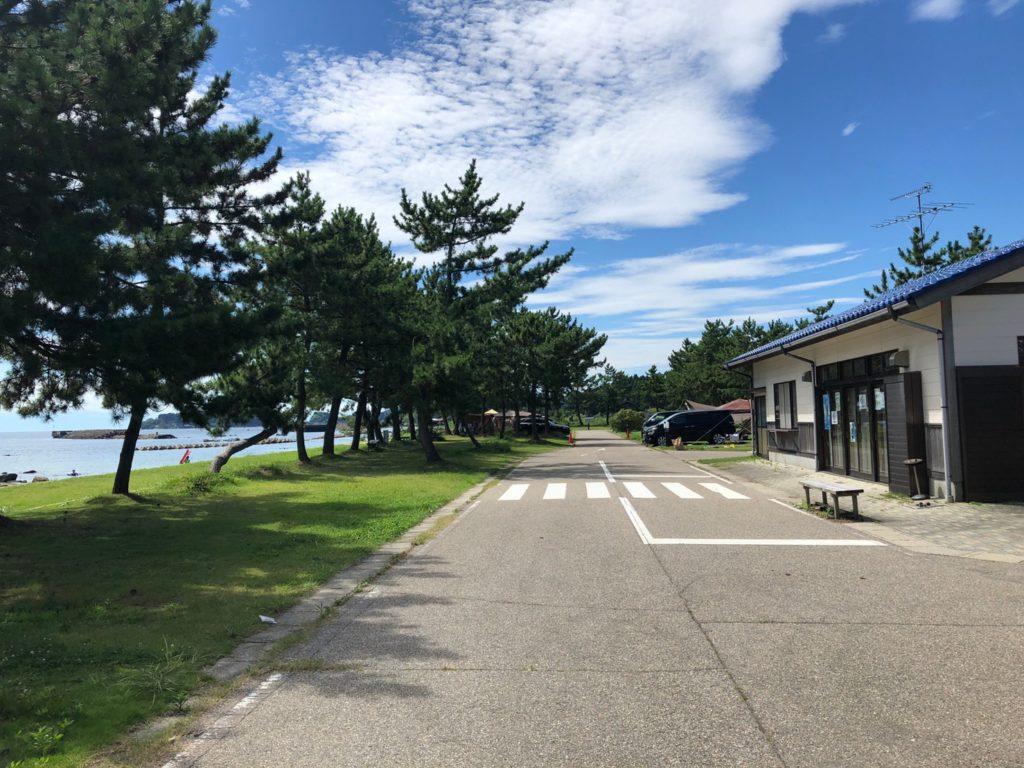 松島オートキャンプ場 管理棟 石川県七尾市能登島