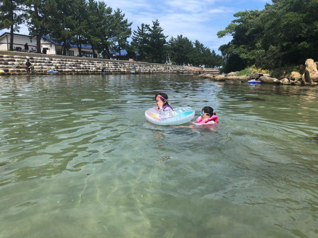 松島オートキャンプ場 海水浴 石川県七尾市能登島 釣り