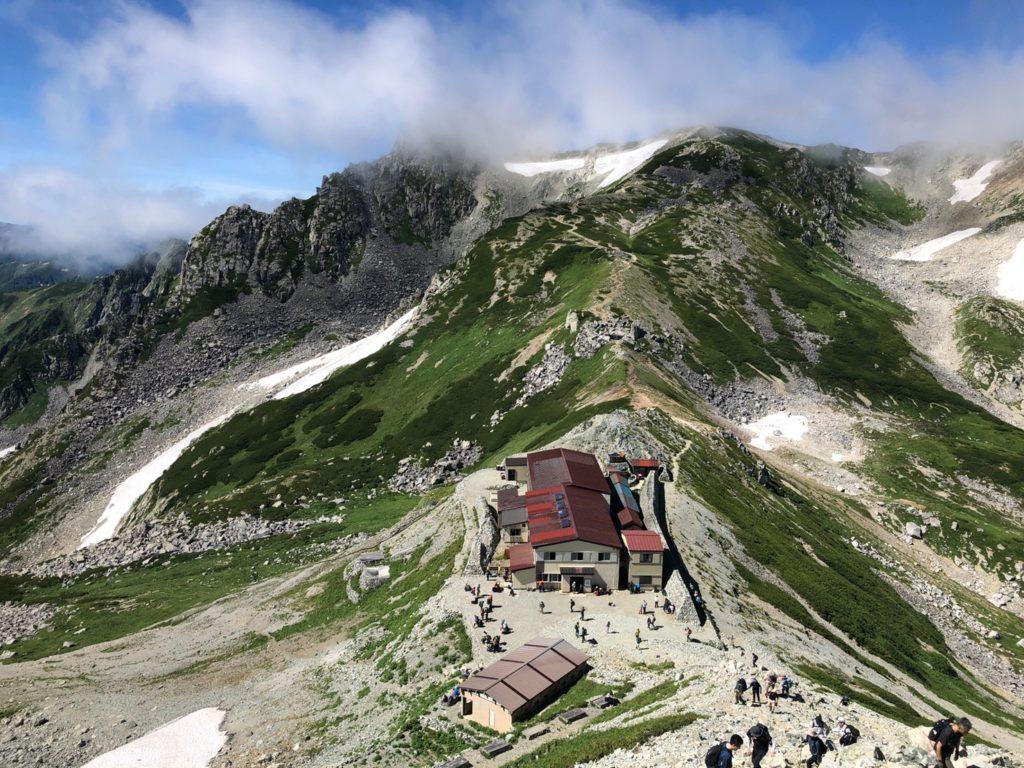 一の越山荘、有料トイレ
