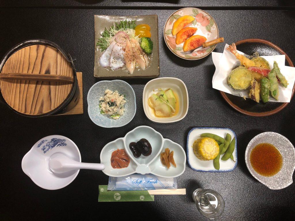 高山坊 夕食