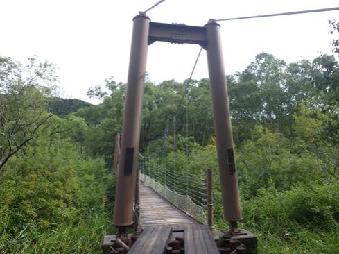 尾瀬 ヨッピ吊り橋