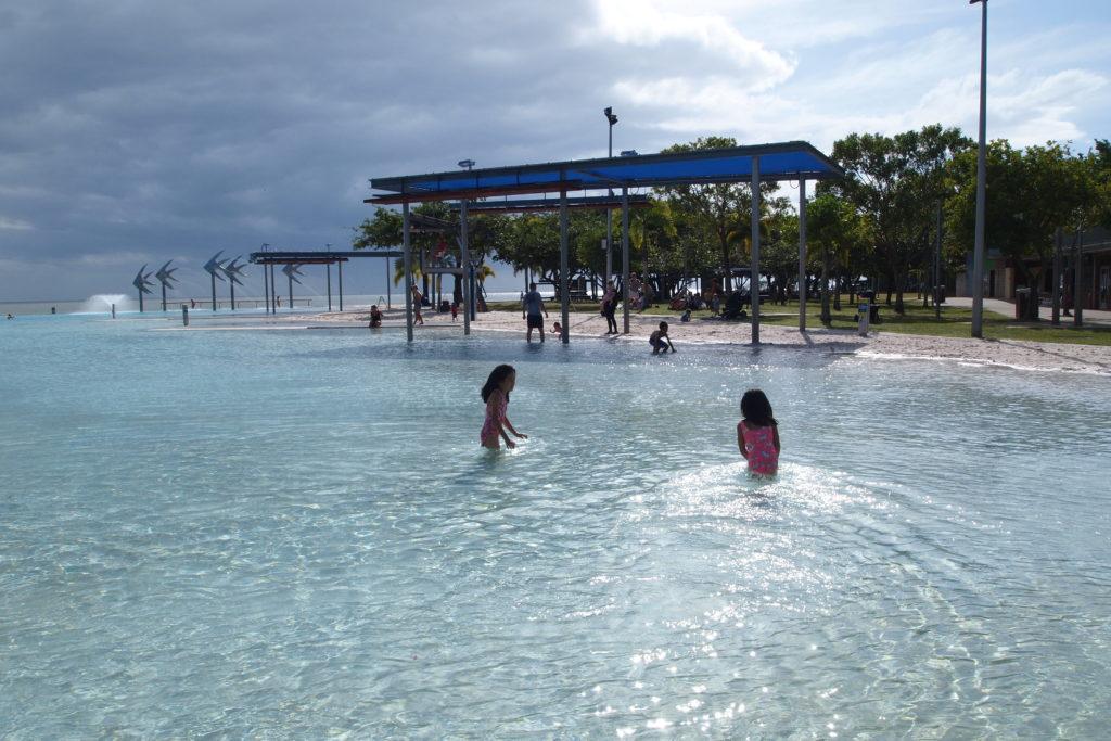 ケアンズ・エスプラナード・ラグーン Cairns Esplanade Lagoon