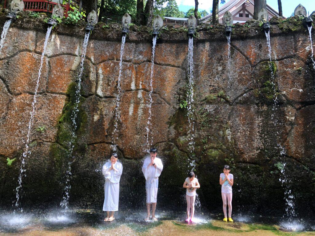 日石寺 十二本滝 十二支滝