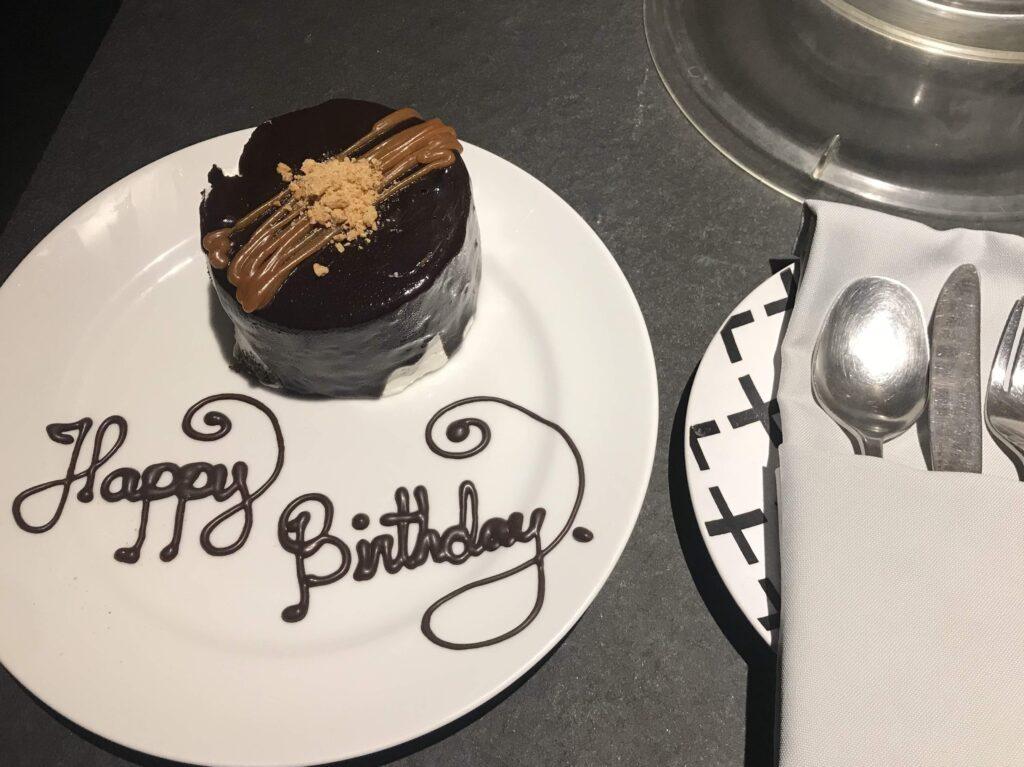 Amorita 誕生日ケーキ