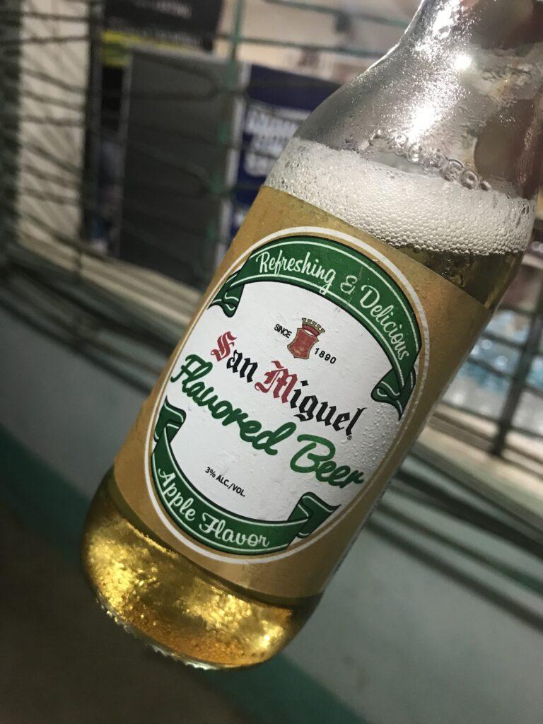 サンミゲル アップルフレーバー フィリピン セブ