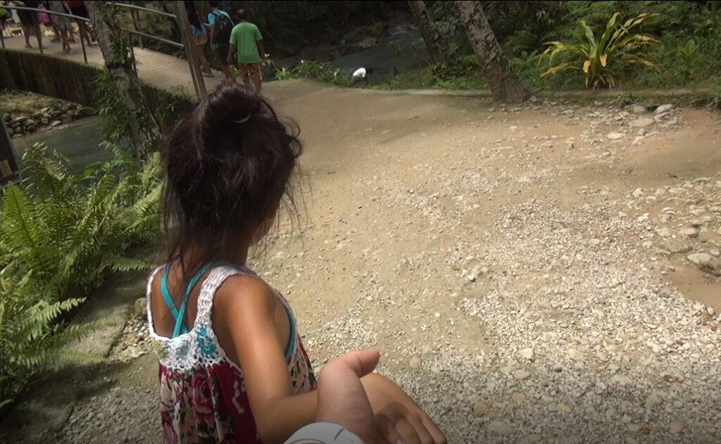 モアルボアル カワサンの滝