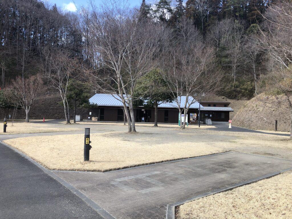 大子広域公園オートキャンプ場 グリンヴィラ 個別サイト AC電源サイト