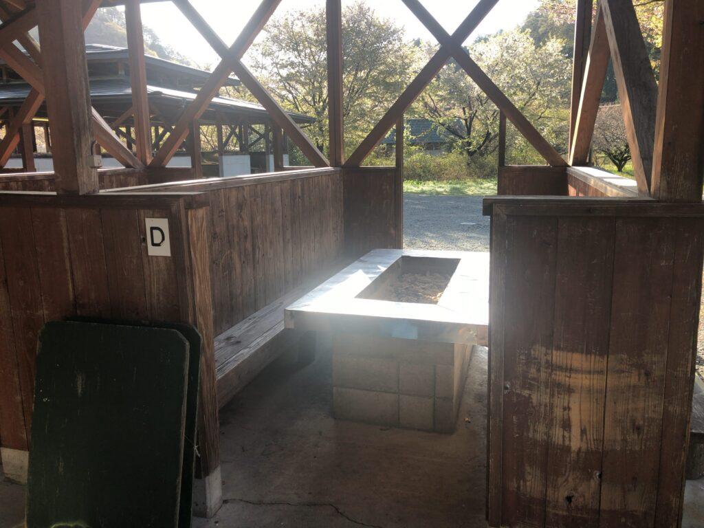 ファミリーオートキャンプ場そうり 沢入 日本オートキャンプ協会認定 お花見キャンプ BBQハウス