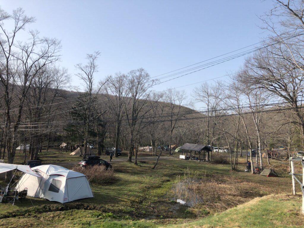 戸隠キャンプ場 フリーサイト