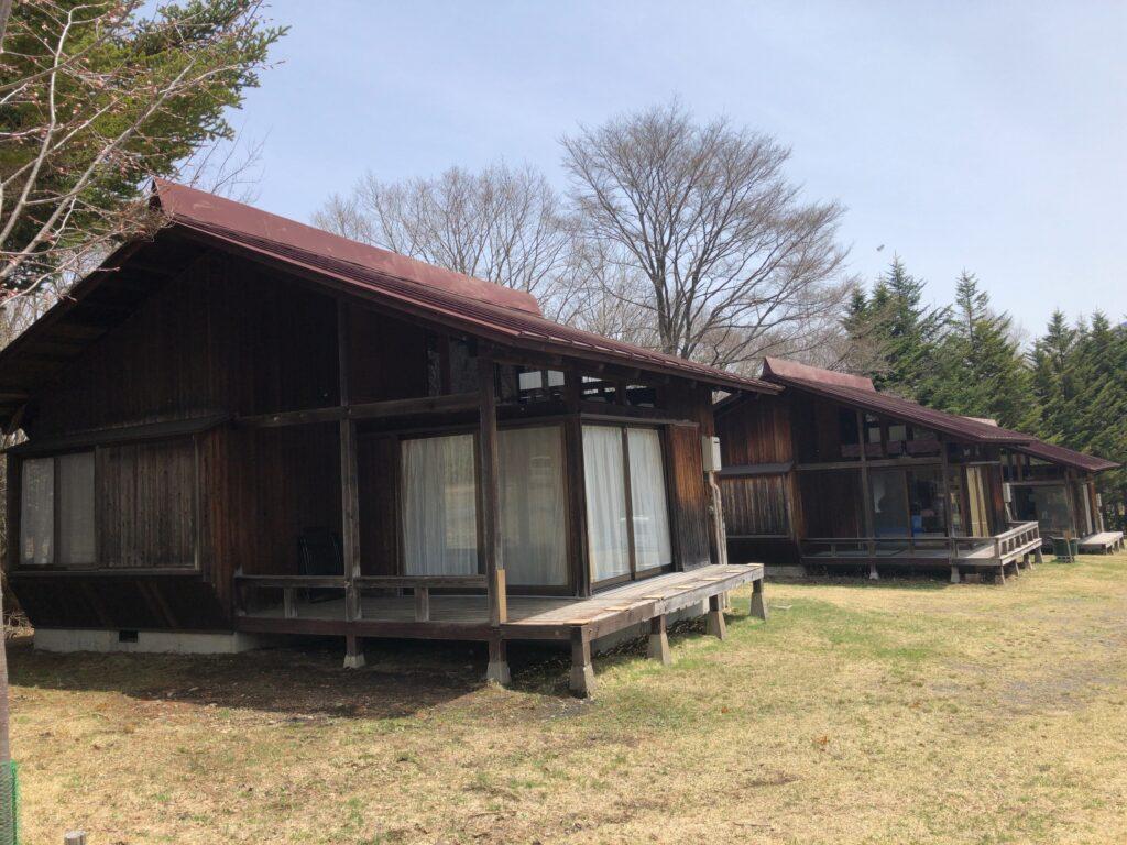 戸隠キャンプ場 コテージ
