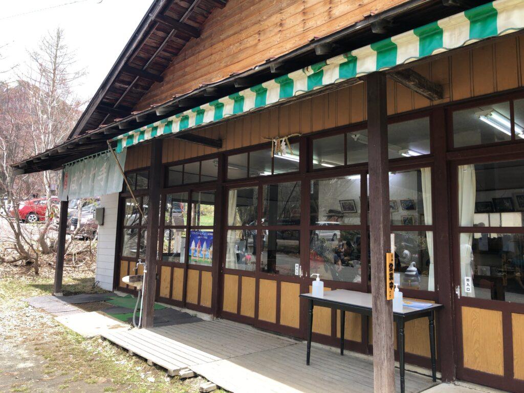 戸隠キャンプ場 白樺食堂
