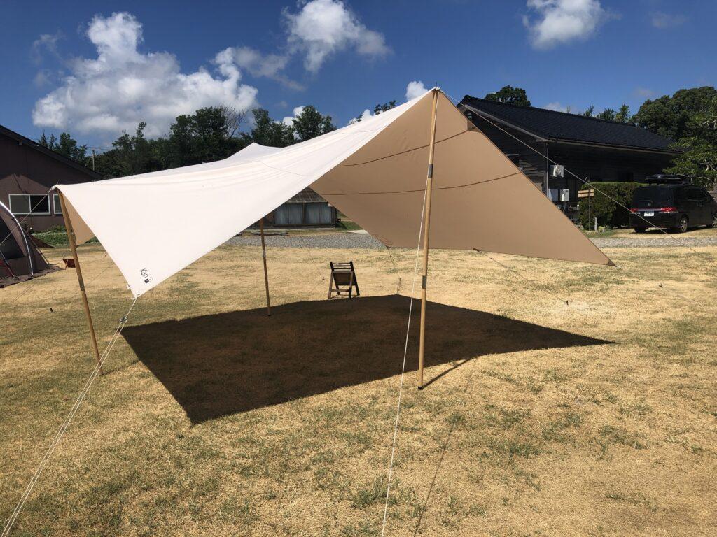 CampingSpotHamano レンタルタープ