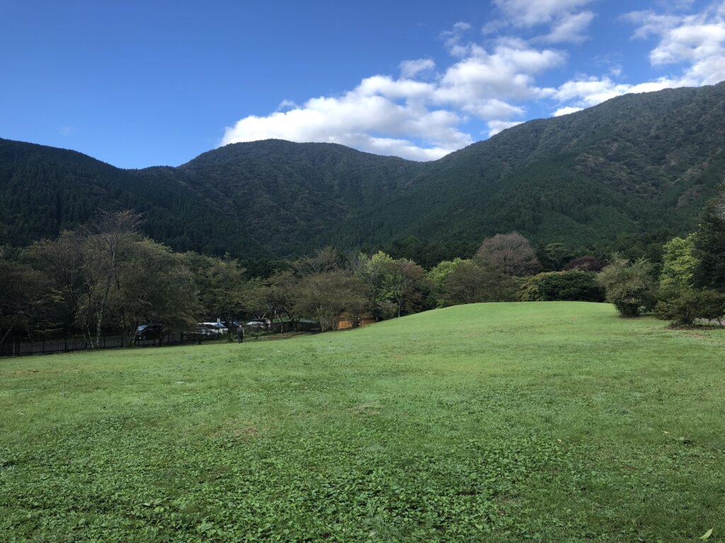 静岡県富士宮市 富士山が目の前に見えるキャンプ場  田貫湖キャンプ場 Bサイト